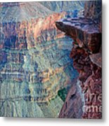 Grand Canyon A Place To Stand Metal Print