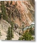 Grand Canyon And Yellowstone River Metal Print