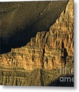 Grand Canyon Bathed In Light Metal Print