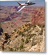 Grand Canyon Fly By-1 Metal Print