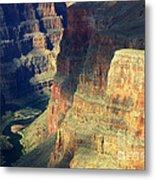 Grand Canyon Magic Of Light Metal Print