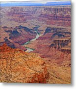 Grand Canyon Nationa Park Painting Metal Print