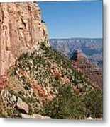 Grand Canyon National Park Bright Angel Loop Arizona Usa Metal Print