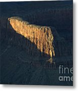 Grand Canyon Point Of Light Metal Print