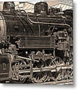 Grand Canyon Railroad Locomotive Metal Print