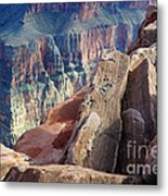 Grand Canyon Roxie Roller Metal Print