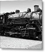 Grand Canyon Train Metal Print