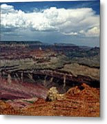 Grand Canyon View - Greeting Card Metal Print