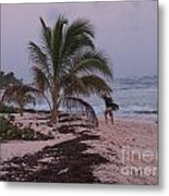 Grand Cayman Surfer Metal Print