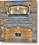 Grand Central Terminal East Balcony I Metal Print