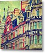 Grand Hotel Metal Print