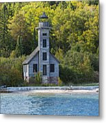 Grand Island E Channel Lighthouse 3 Metal Print