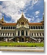 Grand Palace Chakri Mahaprasad Hall Front View Bangkok Metal Print