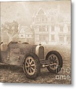 Grand Prix Racing Car 1926 Metal Print by Jutta Maria Pusl
