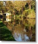 Grand Union Canal Near Denham Metal Print