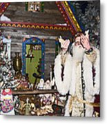Grandfather Frost Of Russia Metal Print