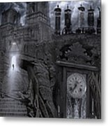 Grandpa's Clock Metal Print by Keith Kapple