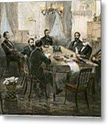 Grants Cabinet, 1869 Metal Print