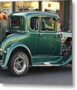 Grants Pass 2012 Cruise - Rumble Seat Open Metal Print