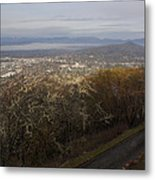 Grants Pass From The Hill Top Metal Print