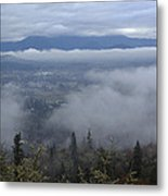 Grants Pass Weather Metal Print
