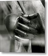 Grasping To Escape Metal Print