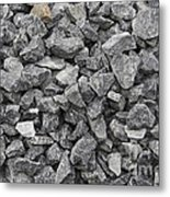 Gravel - Road Metal Metal Print