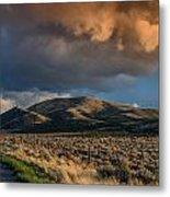Great Basin Cloud Metal Print