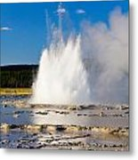 Great Fountain Geyser Metal Print