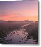 Great Meadows National Wildlife Refuge Dawn Metal Print by John Burk
