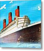 Great Ocean Liner Metal Print