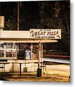 Great Pizza Metal Print