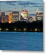 Great Pond Skyline Metal Print