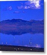 Great Salt Lake From Causeway Metal Print