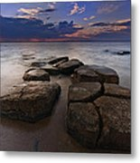 Great South Bay Sunset Metal Print