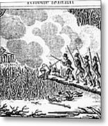 Great Swamp Fight, 1675 Metal Print