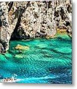 Greece Corfu Island Metal Print