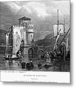 Greece: Negropont, 1833 Metal Print by Granger