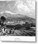 Greece: Yanina, 1833 Metal Print by Granger