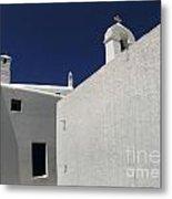 Greek Architecture Mykonos 2 Metal Print
