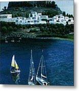 Greek Isles - Rodos Metal Print