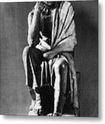 Greek Philosopher Metal Print by Photo Researchers