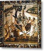 Greek Philosophers Metal Print