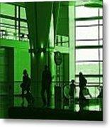 Green Airport Metal Print