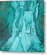 Green Angel Metal Print