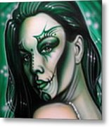 Green Beauty Metal Print