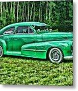 Green Classic Hdr Metal Print