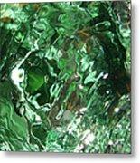 Green Eddy I Metal Print