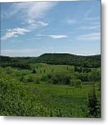 Green Hill Heaven Metal Print