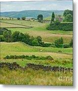 Green Hills Of Galloway Metal Print by John Kelly